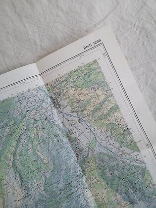Carte géographique de Lenk