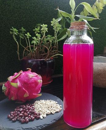 Adzuki Bean, Barley and Dragon Fruit Enzyme Drinks