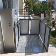 Açık Tip Engelli Asansörleri
