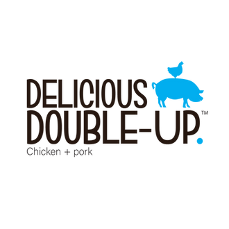 Delicious Double up logo
