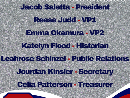 Meet our new Student Body Officers!