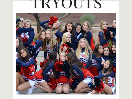 Try out for Cheer!
