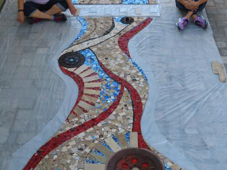 Fabrication of Mexico Mosaic finished!