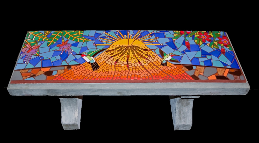 Hummingbird Bench