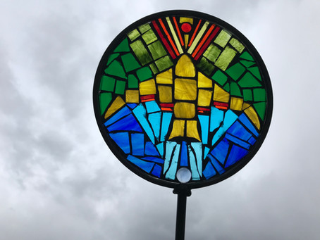 Student mosaics - April 14 workshop!