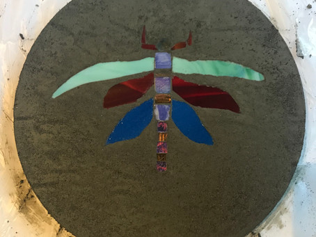 OCT 20 Inlaid Stepping Stone Workshop