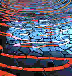Tile mosaic mosaic art mosaic mural
