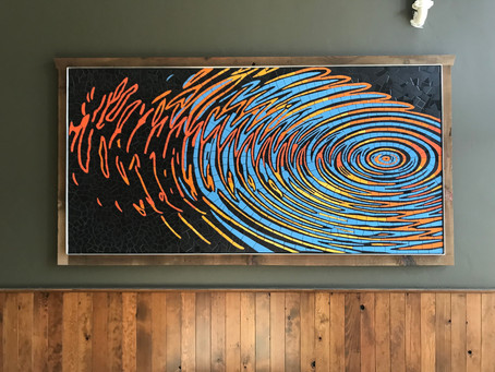 Ripple Effect is a permanent installation!