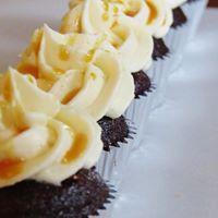 whiskey buttercream cupcakes