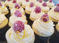 custom raspberry lemon cupcakes