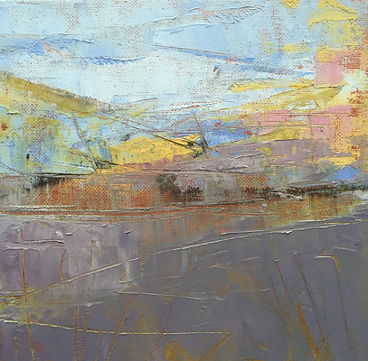 'Loch Ken IV' - Oil & Cold Wax - SOLD