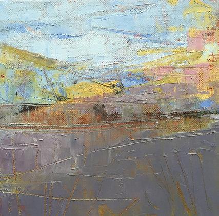 'Loch Ken IV' - Oil & Cold Wax - SOLD
