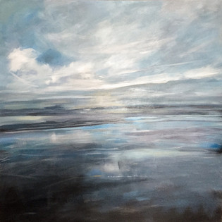 Silver Morning 3ft x 3ft