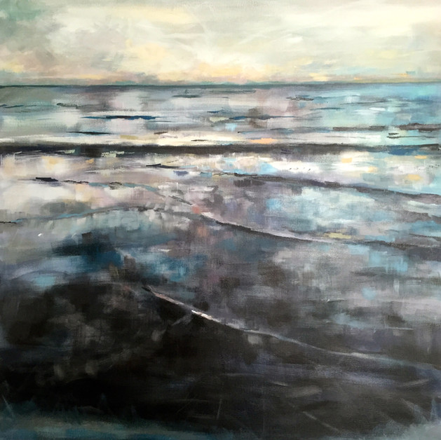 Drawn to the Sea 3ft x 3ft