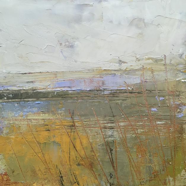 'Loch Ken Study V' 20cm x 20cm