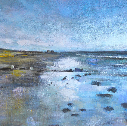 'Low Tide at Alnmouth'