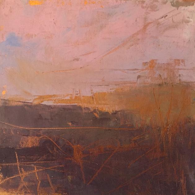 'Loch Ken Study II' 20cm x 20cm