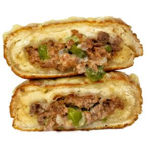 Philly Cheesesteak Donut (Vegan)