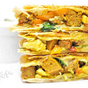 Doubled Curry Quesadilla