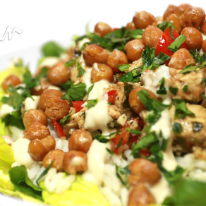 Chickpea 'Chicken' Salad