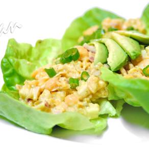 Tu-no Salad Lettuce Wraps