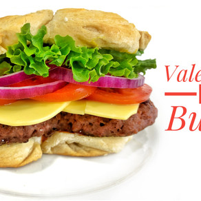Valentine's Day Burger