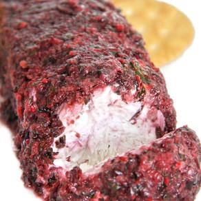 Cranberry Jalapeno Cream Cheese Log