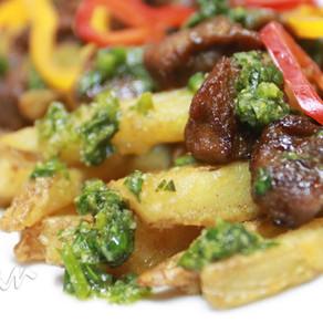 Chimichurri 'Steak' Fries