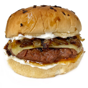 Grilled Onion Beyond Burger
