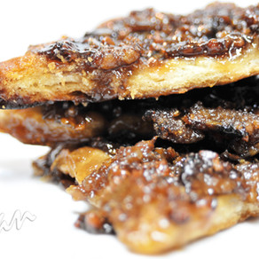 Maple Tempeh Bacon Crack