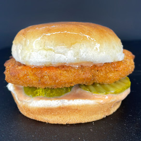 Vegan Copycat Chick-fil-A  Chicken Sandwich