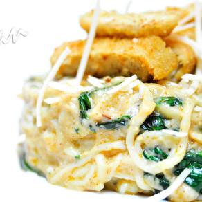 Creamy Spinach Shirataki