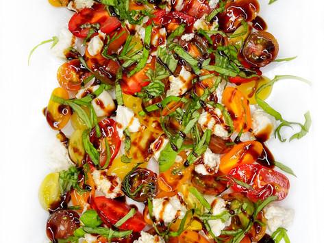 Easy Vegan Caprese Salad