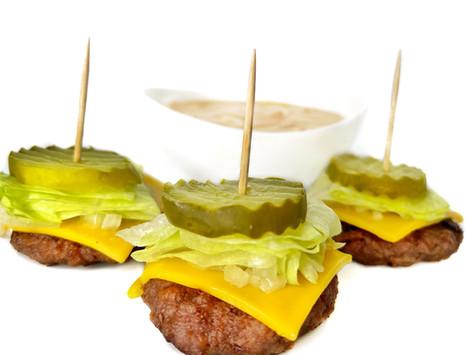 Big Mac Bites (Vegan and Low Carb)