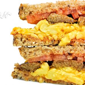 Weekend Breakfast Sandwiches