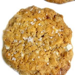 Brown Butter Oatmeal Cookies GF