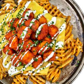 Truff Spicy Chicken Waffle Fries