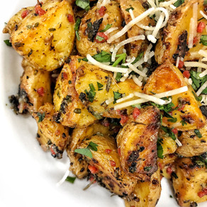 Rosemary Parmesan Roasted Potatoes