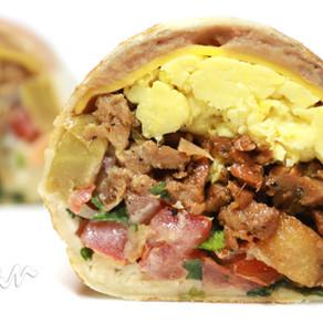 Carne Asada Breakfast Burrito