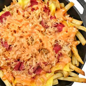Loaded Reuben Fries