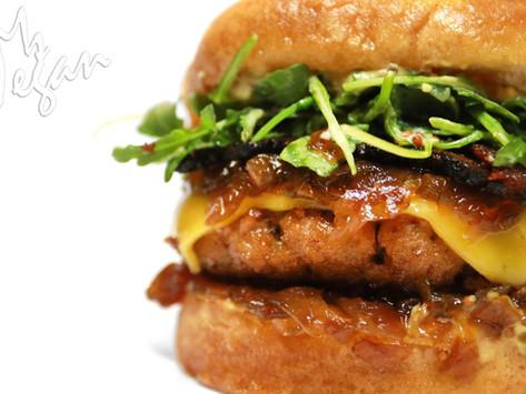 Ms. V's Cheeseburger