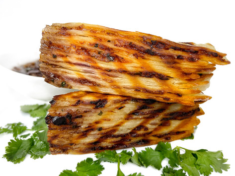 Garlic Onion Tortilla Cake