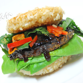 Rice Bun Burger