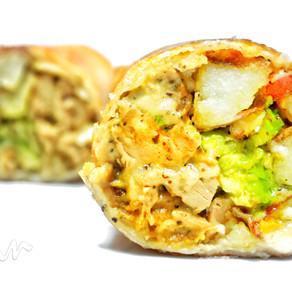 Dijon 'Chicken' and Potato Burrito