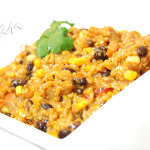 Cheesy Enchilada Rice