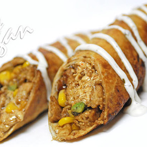 BBQ Chicken-less Flautas
