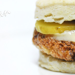 Fried Chicken-less Biscuit