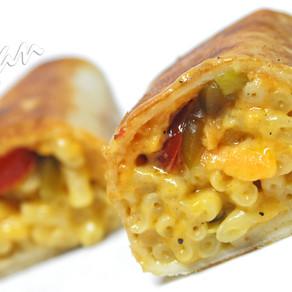 Mac N' Cheese Burrito