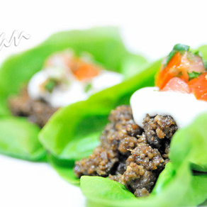Beef-Free Lettuce Tacos