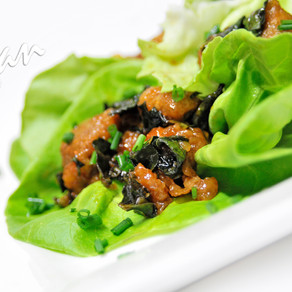 Sweet and Sour Lettuce Tacos
